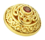 Jewelry vestment button - 1