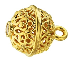 Jewelry vestment button - 7