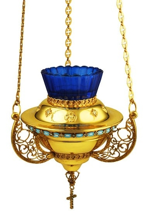Jewelry hanging vigil lamp - A370