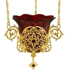 Jewelry hanging vigil lamp - A405