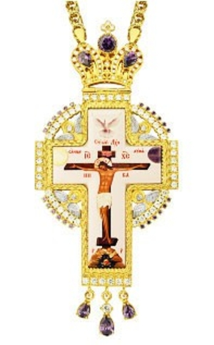 Clergy jewelry pectoral cross no.80