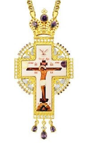 Clergy jewelry pectoral cross no.80