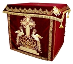 Holy table vestments - 1 (red-gold)