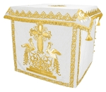 Holy table vestments - 1 (white-gold)