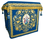 Holy table vestments - no.1 (blue-gold)