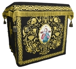 Holy table vestments - no.1 (black-gold)