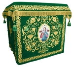 Holy table vestments - no.1 (green-gold)