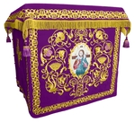 Holy table vestments - no.1 (violet-gold)