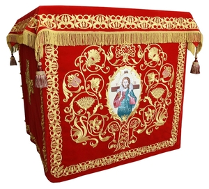 Holy table vestments - no.1 (red-gold)
