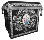 Holy table vestments - no.1 (black-silver)