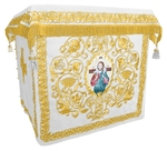 Holy table vestments - no.1 (white-gold)