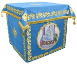 Holy table vestments - no.2 (blue-gold)