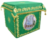 Holy table vestments - no.2 (green-gold)