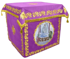Holy table vestments - no.2 (violet-gold)