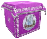 Holy table vestments - no.2 (violet-silver)