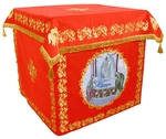Holy table vestments - no.2 (red-gold)