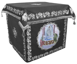 Holy table vestments - no.2 (black-silver)