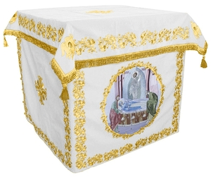 Holy table vestments - no.2 (white-gold)