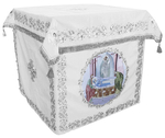 Holy table vestments - no.2 (white-silver)