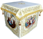 Holy table vestments - 2 (white-gold)