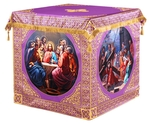 Holy table vestments - 3 (violet-gold)