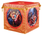 Holy table vestments - 3 (red-gold)