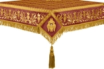 Embroidered Holy table cover no.1 (br.) (claret-gold)