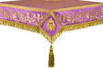 Embroidered Holy table cover no.1 (br.) (violet-gold)