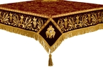 Embroidered Holy table cover no.1 (comb.) (claret-gold)