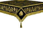 Embroidered Holy table cover no.1 (comb.) (black-gold)