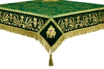 Embroidered Holy table cover no.1 (comb.) (green-gold)