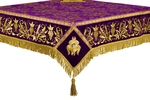 Embroidered Holy table cover no.1 (comb.) (violet-gold)