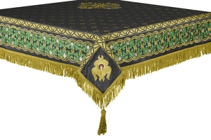 Embroidered Holy table cover no.3 (black-gold)