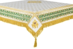 Embroidered Holy table cover no.3 (white-gold)