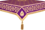 Embroidered Holy table cover no.6 (violet-gold)