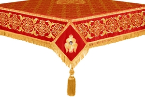 Embroidered Holy table cover no.6 (red-gold)