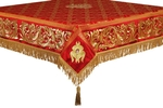 Embroidered Holy table cover no.8 (red-gold)