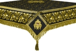 Embroidered Holy table cover no.10 (black-gold)