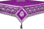 Embroidered Holy table cover no.10 (violet-silver)
