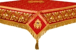 Embroidered Holy table cover no.10 (red-gold)