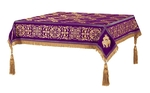 Embroidered Holy table cover no.11 (violet-gold)