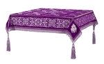 Embroidered Holy table cover no.11 (violet-silver)