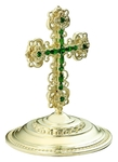 Jewelry mitre cross - A623 (silver-gilding)