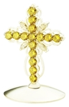 Jewelry mitre cross - A752 (silver-gilding)