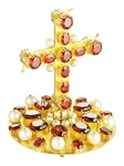 Jewelry mitre cross - A80 (gold-gilding)