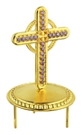 Jewelry mitre cross - A452 (gold-gilding)