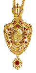 Jewelry Bishop panagia (encolpion) - A78 (gold-gilding)