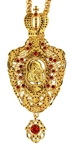Jewelry Bishop panagia (encolpion) - A78-1 (gold-gilding)