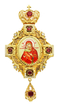 Jewelry Bishop panagia (encolpion) - A127 (gold-gilding)