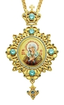 Jewelry Bishop panagia (encolpion) - A161 (gold-gilding)
